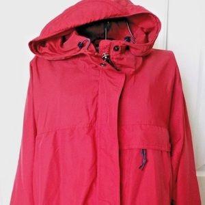 Eastern Mountain Sports Coat Large Rollaway Hood